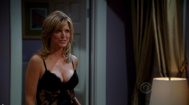 Courtney Thorne Smith Two and a Half Men   ladies in lingerie