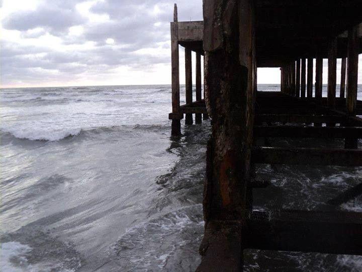 Muelle de los pescadores, Necochea.