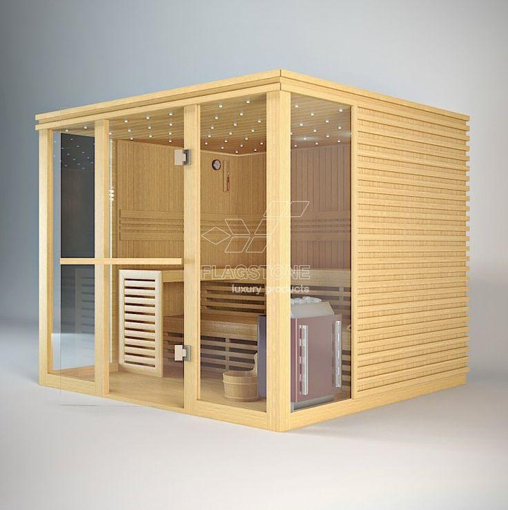 Sauna finlandeza - STRIPE @ FLAGSTONE - smart products