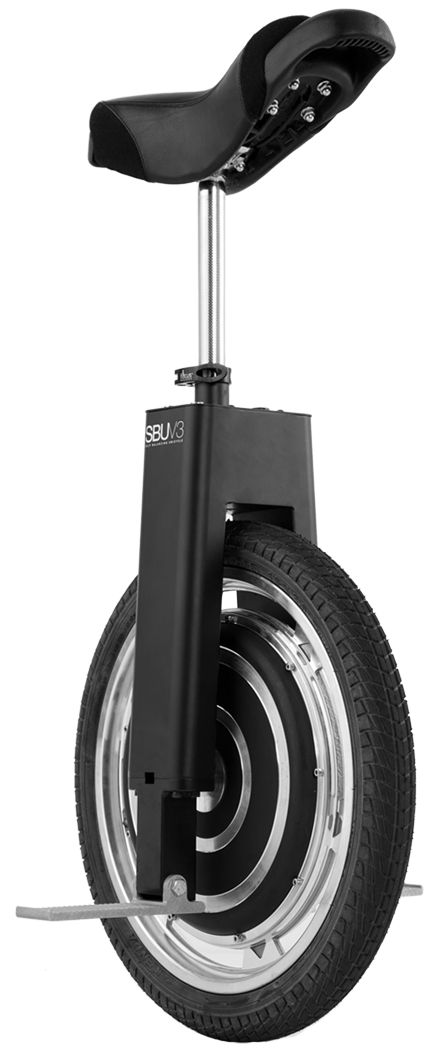 SBU V3 - self-propelled, auto-balancing unicycle. Segway has nothing on this!