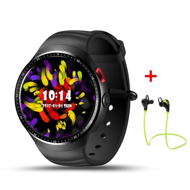 """2017 NEW! LEMFO LES1 Bluetooth Smart Watch MTK6580 1.39"""" OLED Round Support SIM Card For Android IOS Phone"""