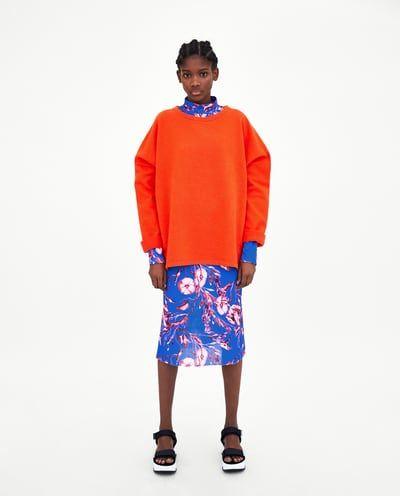 Women's Sweatshirts   New Collection Online   ZARA United Kingdom