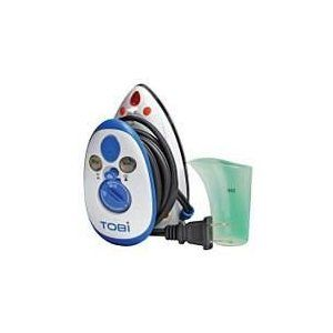 TOBI IRON FLY TRAVEL STEAMER Special $ 25.00 Product Description      3 Temperature settings     One touch steam control     Continuous steam output     dual voltage for worldwide travel     Very compact fits perfectly into luggage.
