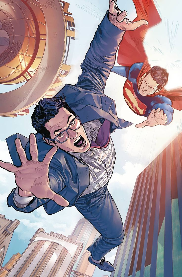 """DC COMICS (W) Dan Jurgens (A) Patrick Zircher (CA) Clay Mann """"WHO IS CLARK KENT?"""" part 1! Look-down there on the ground! It's a guy, he's kinda ordinary...it's-Clark Kent?! As Metropolis recovers from"""