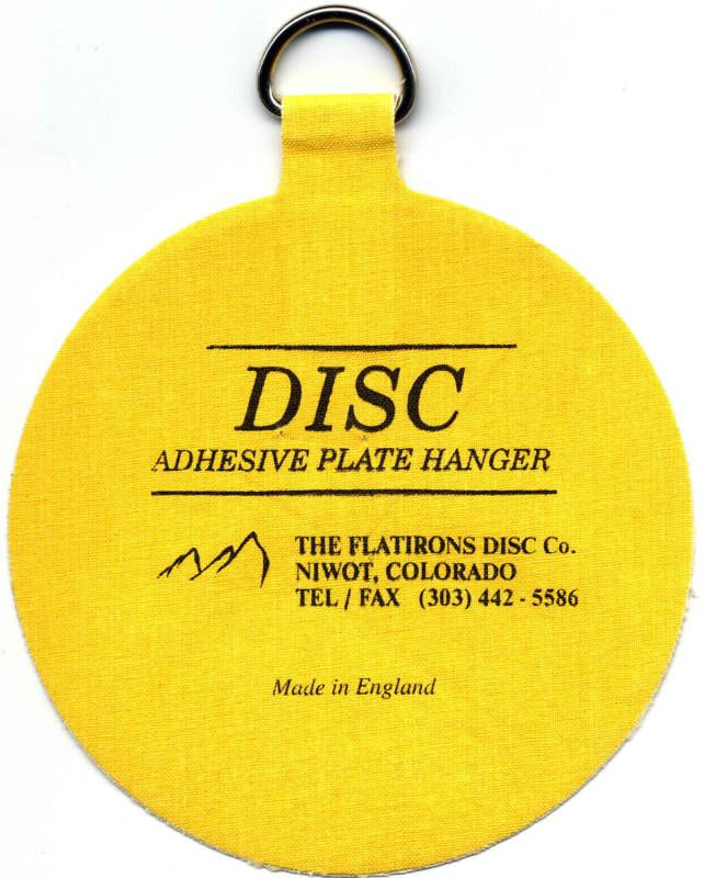 The Original Invisible Disc Adhesive Plate Hangers #TheFlatironsDiscCo  sc 1 st  Pinterest & 104 best Plates and more images on Pinterest | Plate wall Dining ...