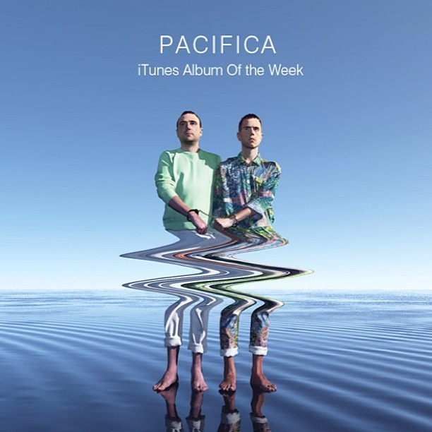 Don't forget 'Pacifica' is #iTunes album of the week get it now!