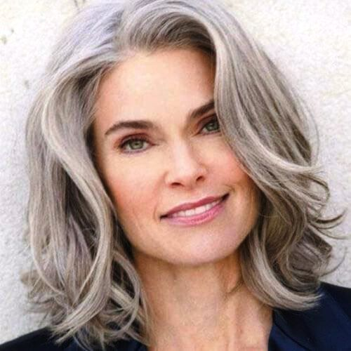 25 Gorgeous Medium Length Hairstyles for Women over 50