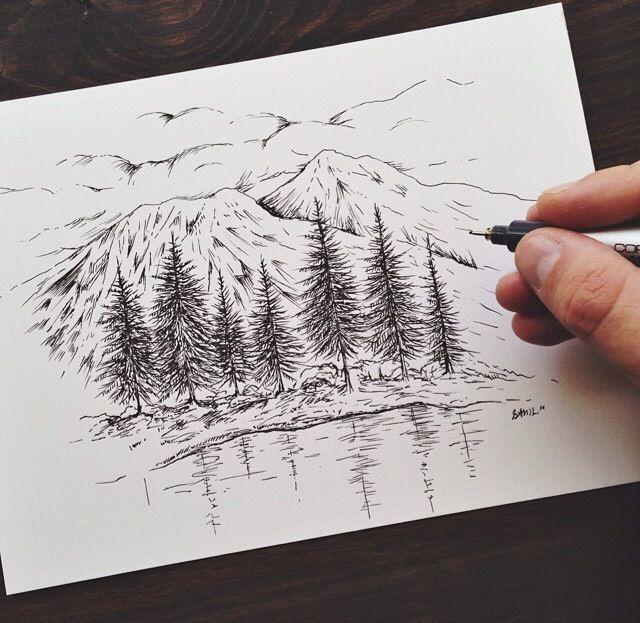 Image result for brush pen sam larson