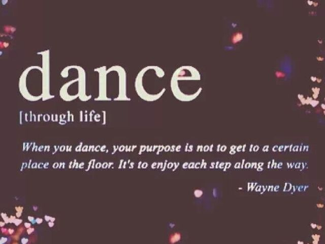 Choose a word that describes your dancing. I got lyrical!!