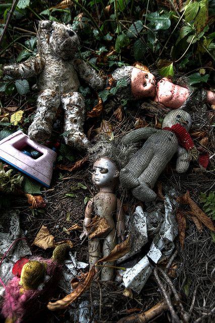 abandoned toys by TranKmasT, via Flickr