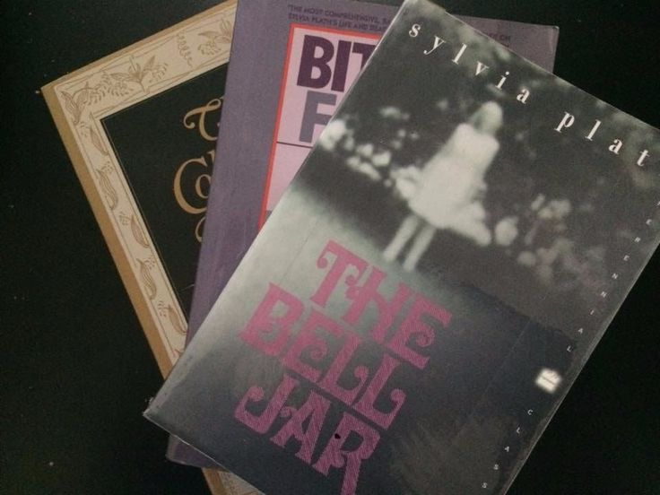 Sylvia Plath X3 lot Bell Jar Collected Poems Bitter Fame Biography