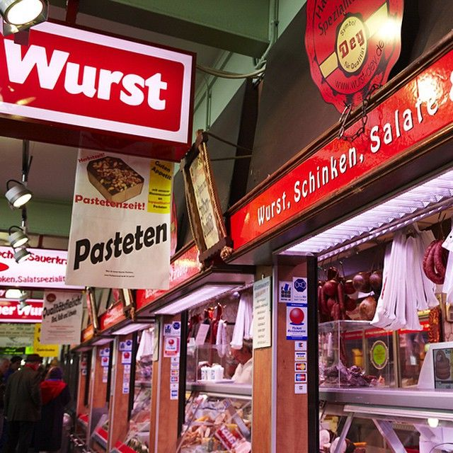 meet meat. Did you know that Frankfurt has more to offer than banks and skyscrapers? Check out the Kleinmarkthalle. Here you can find many local, traditional and international specialities. Simply taste, enjoy and linger.