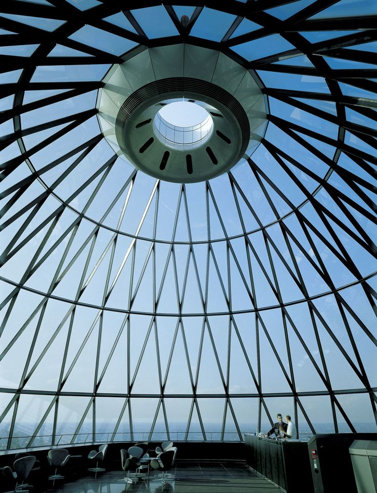 Foster + Partners, Nigel Young, Richard Bryant · Swiss Re HQ, 30 St Mary Axe · Divisare