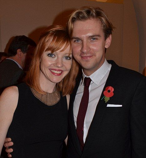 Downton Abbey star Dan Stevens on why wife Susie Hariet is his only leading lady | Mail Online