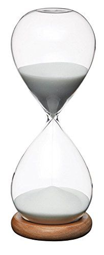8 x 21.5cm Natural Elements Hourglass Timer