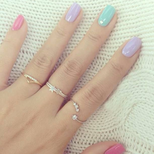 27 Simple and Cute Nail Art Ideas   Style Motivation: