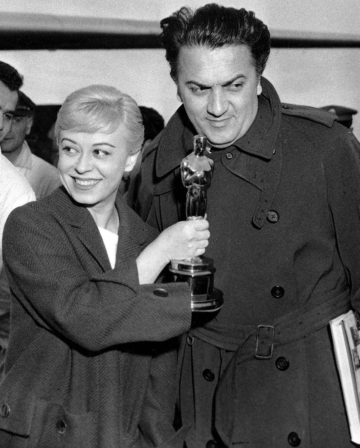 Federico Fellini Giulietta Masina