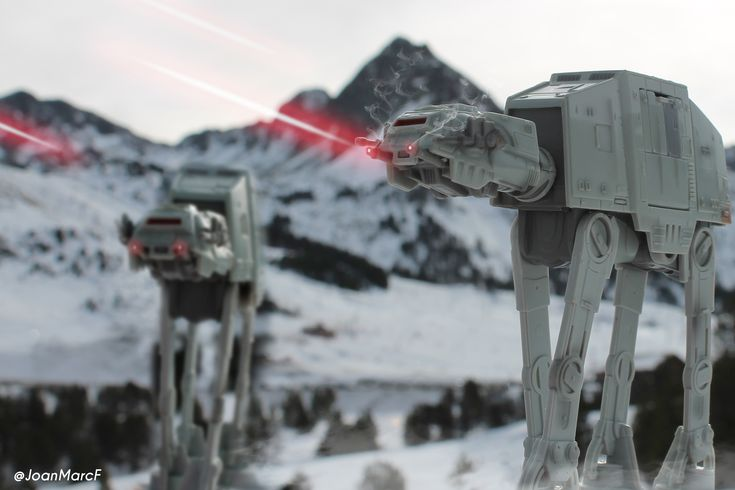2 AT-AT star wars / toyphotography