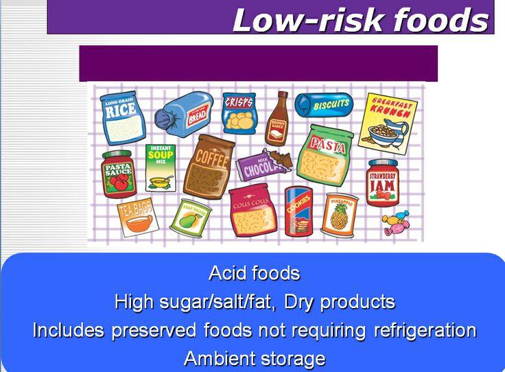 Low Risk Foods