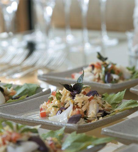 Salada de bacalhau com risoni, do João Belezia