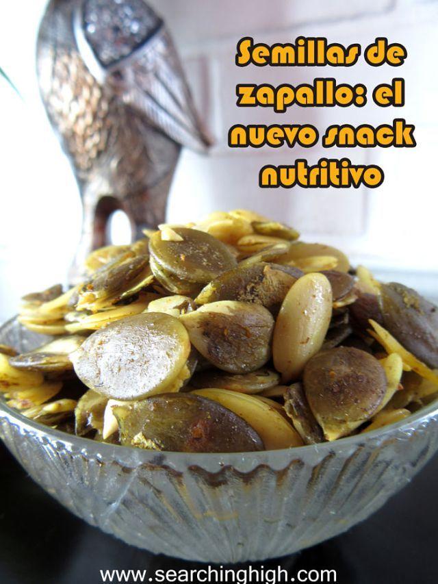 Cómo limpiar y comer las semillas del zapallo. Searching High  #diy #healthy #food #yum #pumpkin #seeds #calabaza #pepas #pepitas #semillas #zapallo #snack #saludable #natural