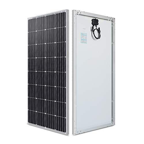 Renogy Solar Panel 160 Watt 12 Volt Monocrystalline 160w Compact Design Renogy In 2020 Solar Panels Monocrystalline Solar Panels 12 Volt Solar Panels