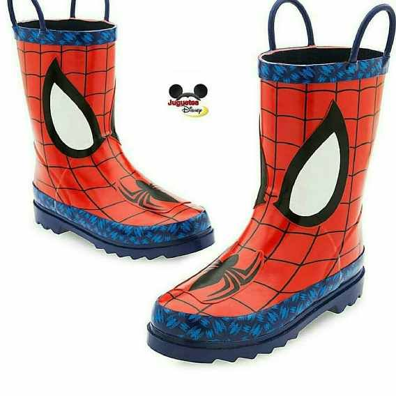 Botas De Lluvia De Spiderman Original De Disney Store