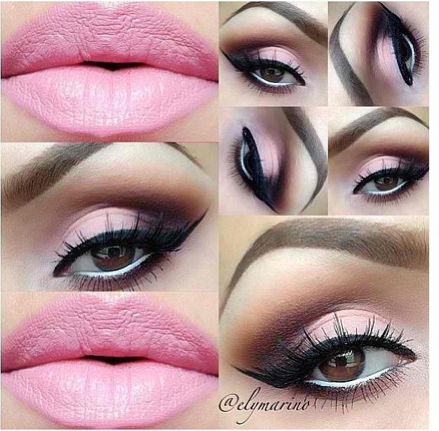 pink smokey eye makeup gettin pretty pinterest pink