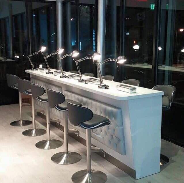 Salon Furniture Nail Bar Tables