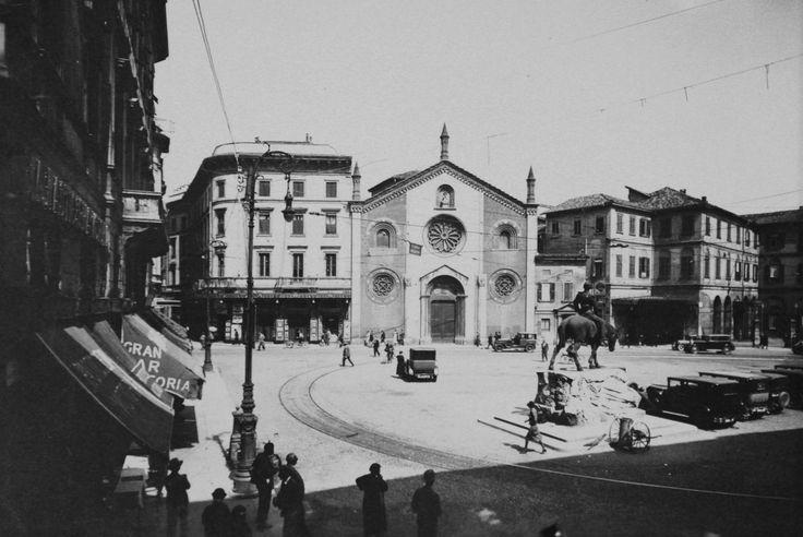 San Giovanni in Conca agli inizi del Novecento.