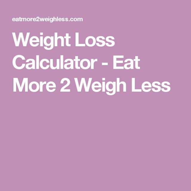 juice fast weight loss calculator