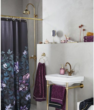 Best H O M E W I S H L I S T Images On Pinterest Console - Velour bath towels for small bathroom ideas