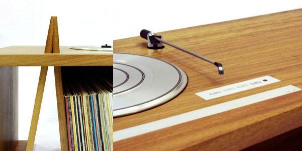 Consolle Folded Record Bureau