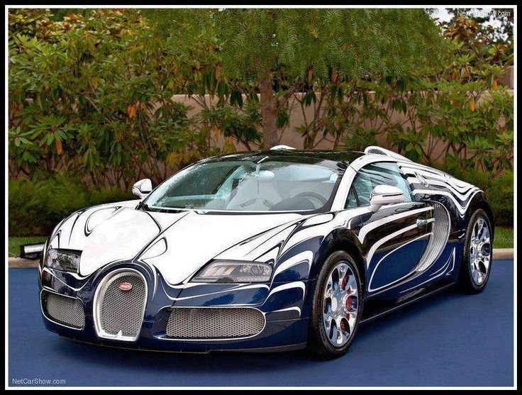 Chrome Bugatti Veyron vehicles Pinterest