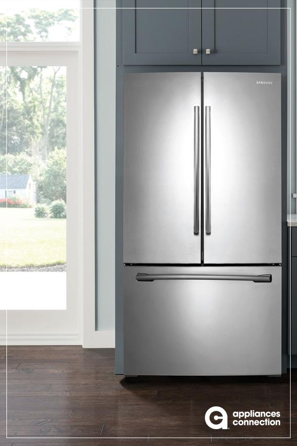 36 Inch Freestanding French Door Refrigerator With 25 5 Cu Ft
