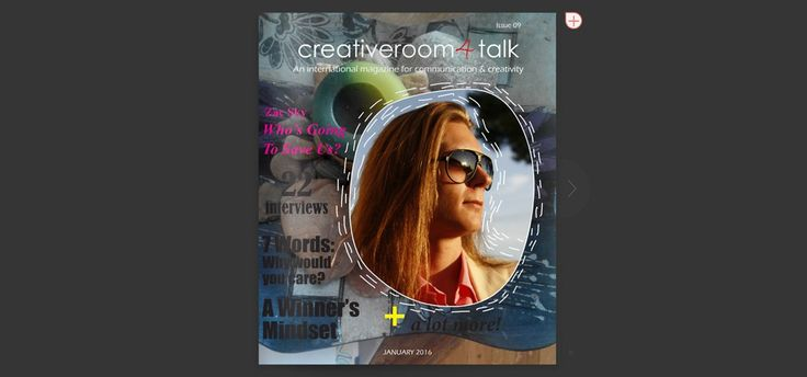 Our January ISSUU is right here waiting for you - creativeroom4talk