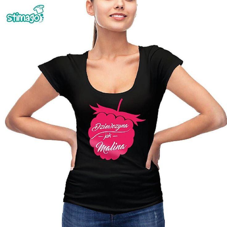 #dziewczyna jak #malina! ;-) http://ift.tt/1oACj1J #tshirt #koszulka #dlaniej #stimagopl #kreatywnysposobnakoszulki
