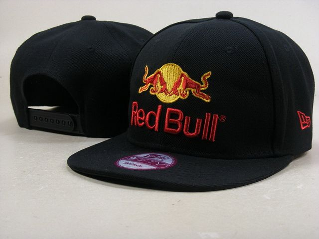 Red Bull Snapback Hats 9Fifty Snapbacks Caps Black 027