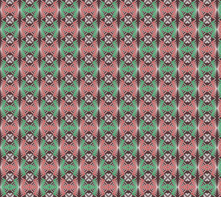 "Fabric+""ethnic+geometric++pattern""+by+Stellagala #design #artofwhere"