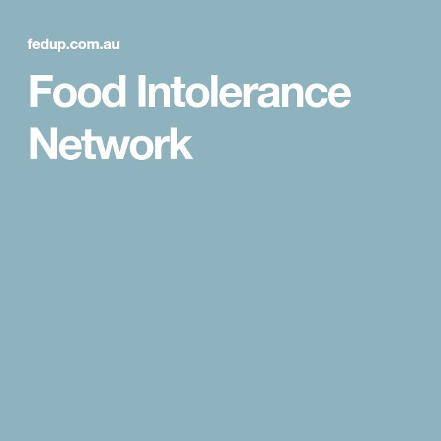 Food Intolerance Network