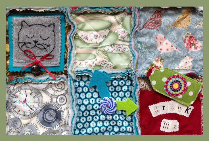 Alice in Wonderland Baby Activity Blanket