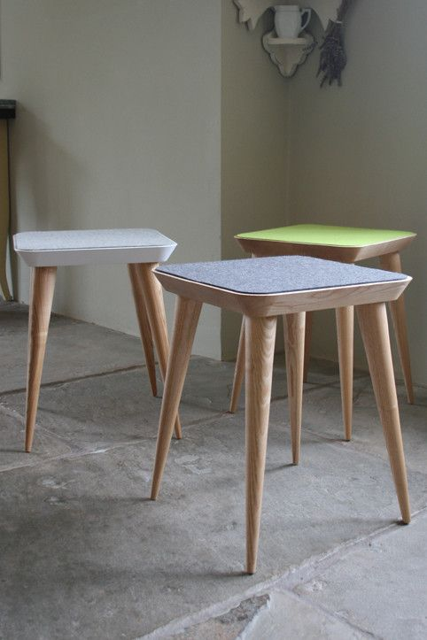 Felt Stool from Barnby and Day, seen at clerkenwell design week 2013