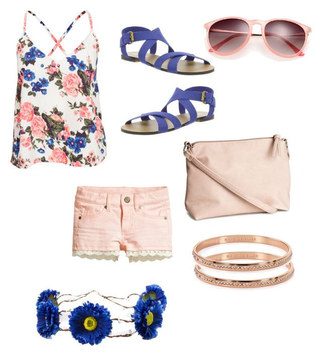 """Swinging higher"" by feeshion ❤ liked on Polyvore featuring H&M, NLY Trend, Office, Retrò, Kate Spade, women's clothing, women, female, woman and misses"