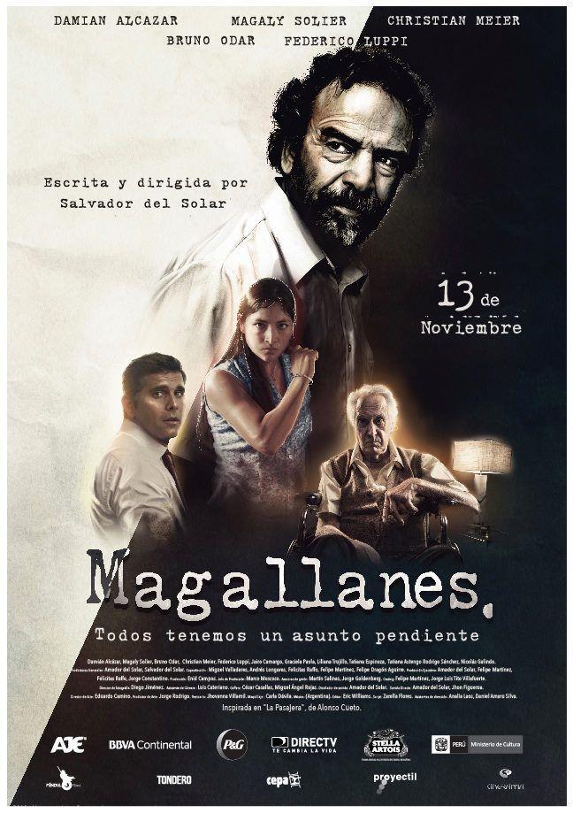 Cinelodeon.com: Magallanes. Salvador del Solar.