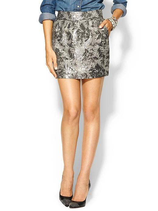This is a cool look!  I have a Chinese brocade skirt, all I need now is a denim shirt!  Awesome date night outfit!