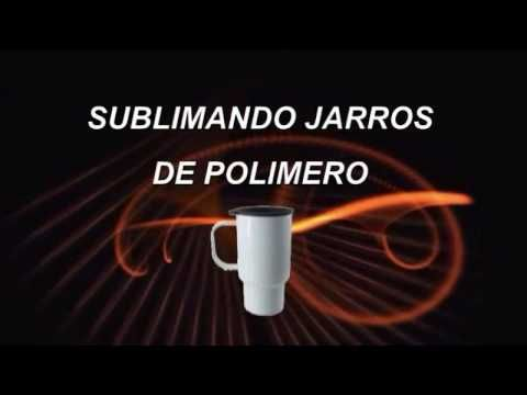 Cómo sublimar productos de polímero - YouTube