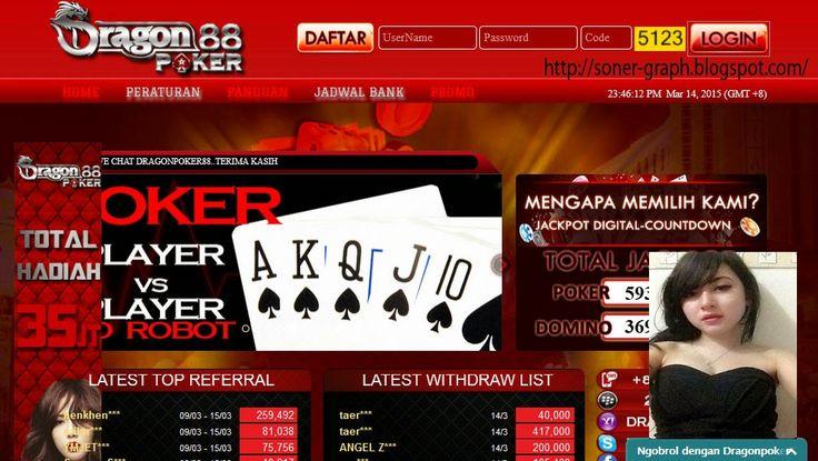 Dragonpoker88.Com Agen Texas Poker Dan Domino Online Indonesia Terpercaya - Kali Ini Saya Mereview Situs Judi Online Di Indonesia Yang Di Sini Memang Benar-Benar Terpercaya Akan Kredibilitas Dalam Mengola Situsnya,