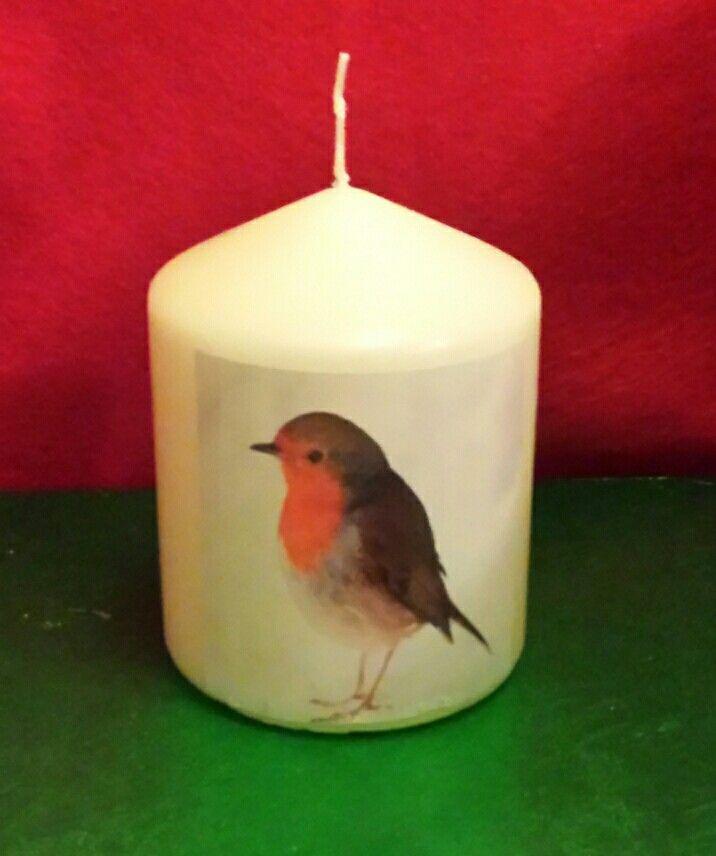 Robin candle