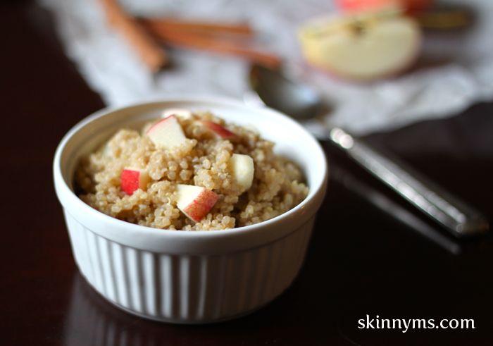 ... Breakfast Quinoa, Apples Breakfast, Cinnamon Apples, Apples Quinoa