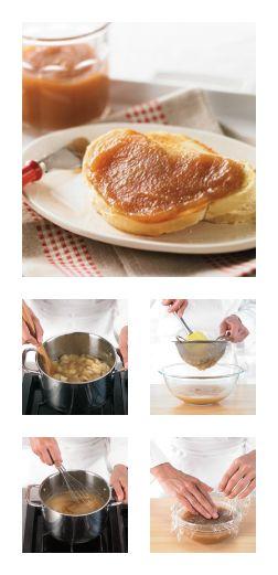 Comment faire du beurre de #pommes